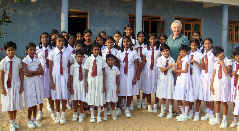 Celebration of a decade of helping in Sri Lanka